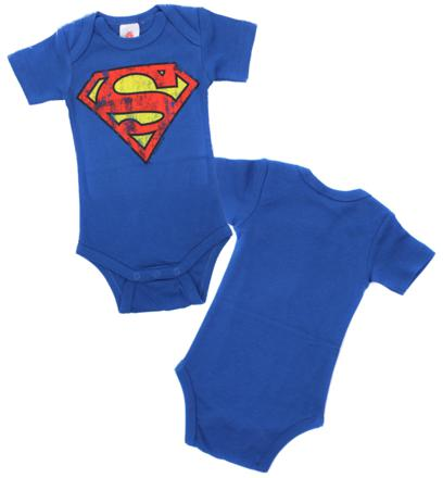 vetement bebe superman
