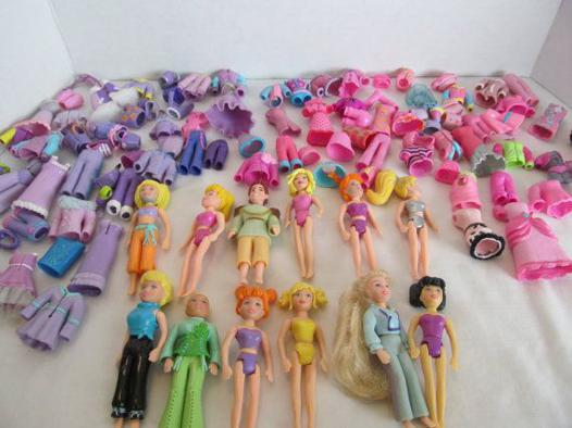 vetement polly pocket