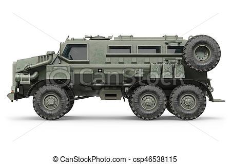 voiture armée