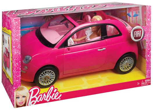 voiture barbie fiat