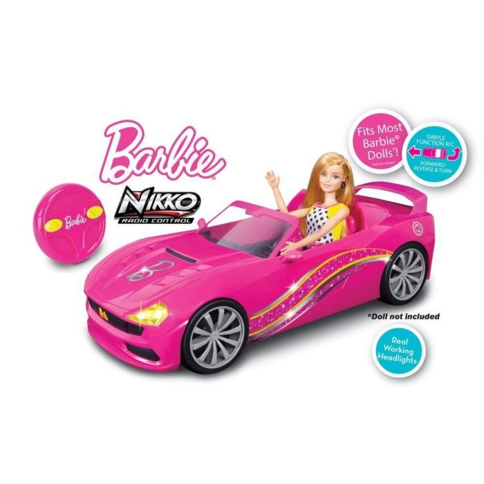 voiture barbie radiocommandée