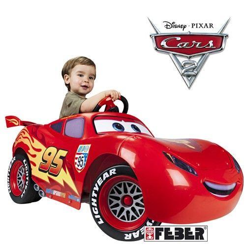 voiture cars electrique flash mcqueen