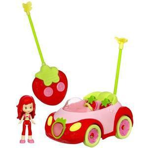 voiture charlotte aux fraises télécommandée