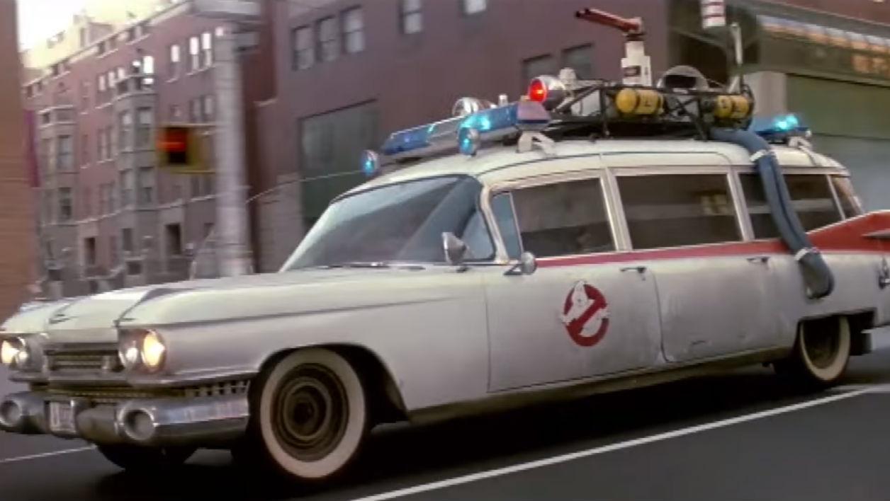 voiture de sos fantome