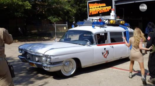 voiture ghostbuster