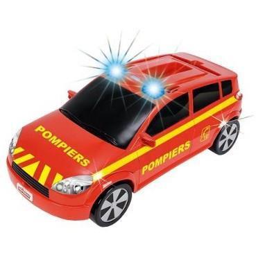 voiture pompier majorette