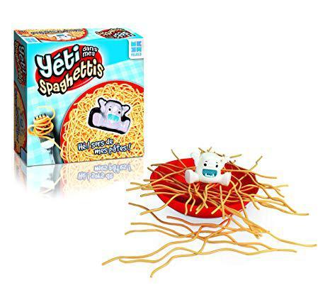yeti dans les spaghettis